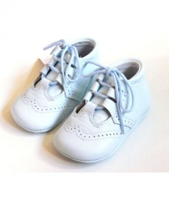 baby blue pram shoes