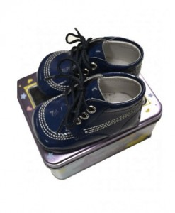 navy pram shoes