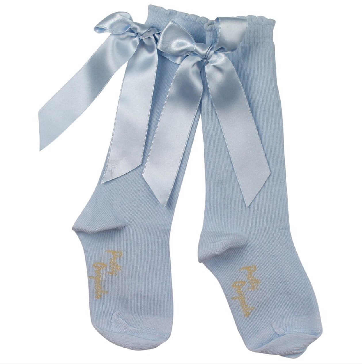 3eeb384e0ac09 Pretty Originals Bow Socks Blue | Baby Boutique Clothing
