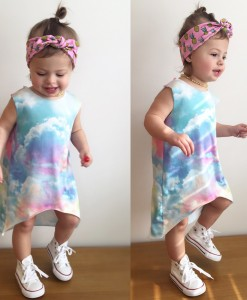 Cloud Hi & Lo Dress