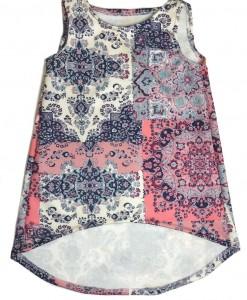 Juni Hi & Lo Scuba Dress