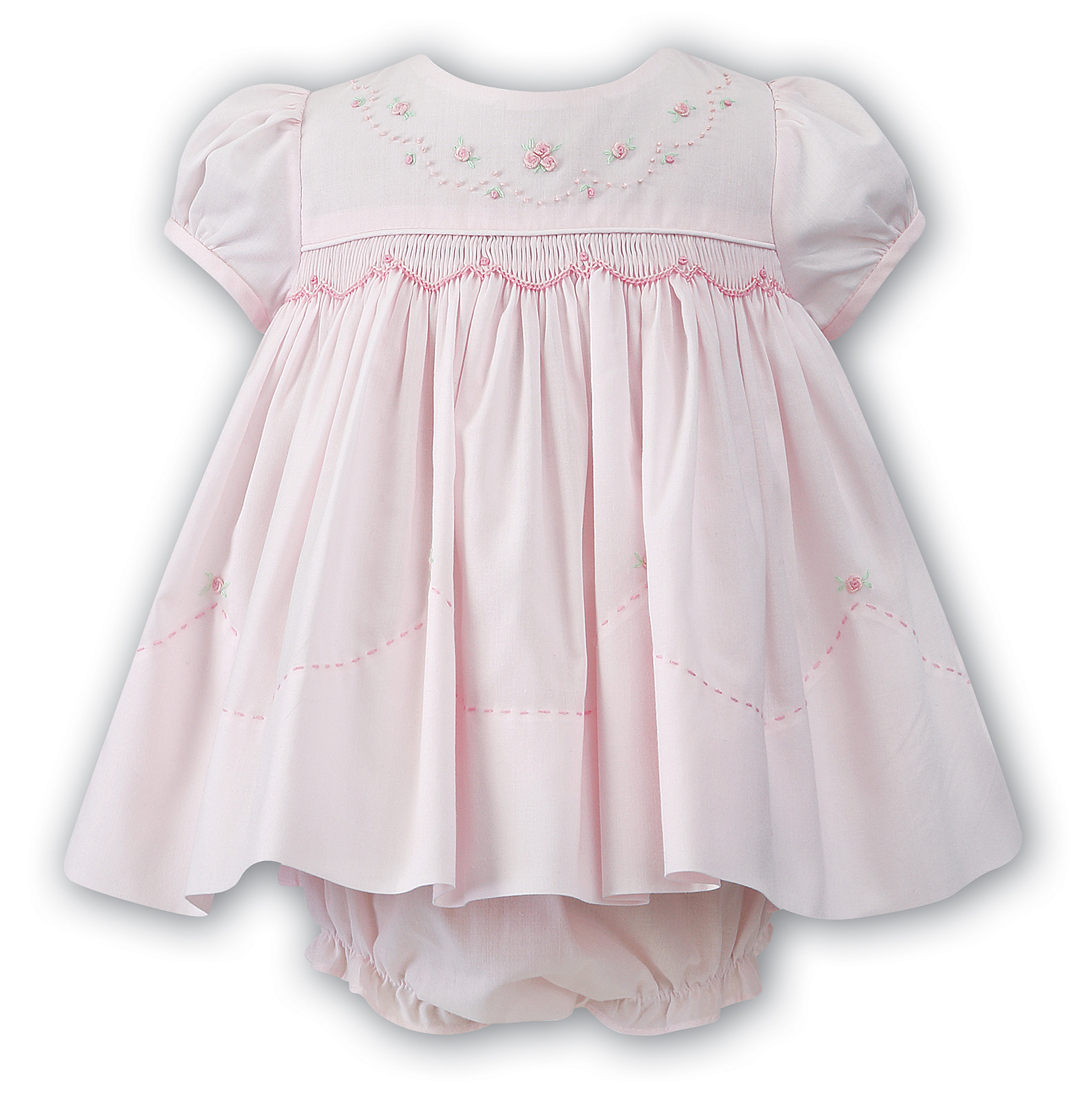 Embroidered Dress Set Baby Boutique Clothing