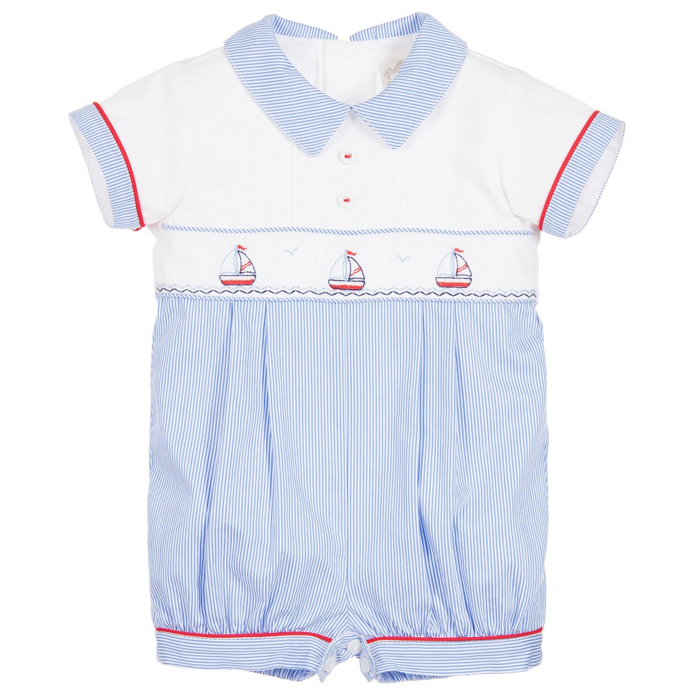 Boat Romper Baby Boutique Clothing